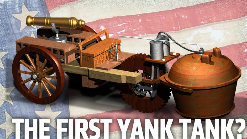 The USA Could Have Had A Tank To Fight The Revolutionary War