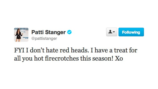 Patti Stanger Says She Doesn't Hate Redheads While Being Totally Hateful Towards Redheads