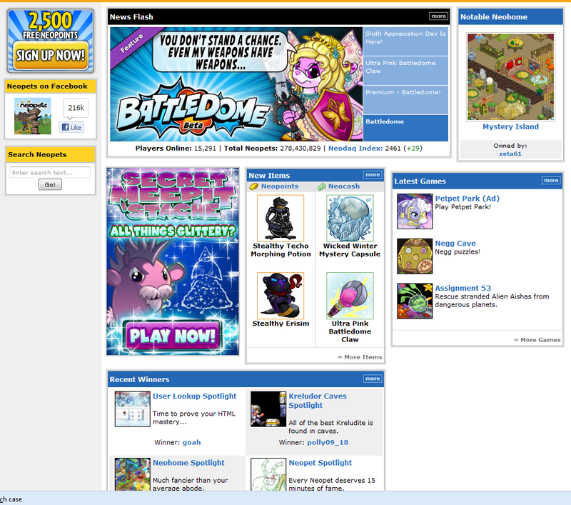 I Returned To Neopets After A Decade Of Abandonment, Only To Get Suspended Hours Later