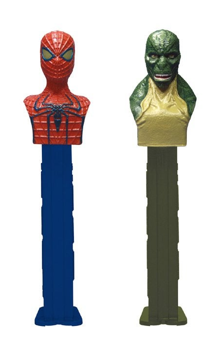 Your first look at The Lizard from The Amazing Spider-Man (as a Pez dispenser)