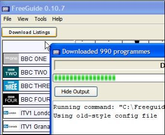 Roll Your Own TV Guide With FreeGuide