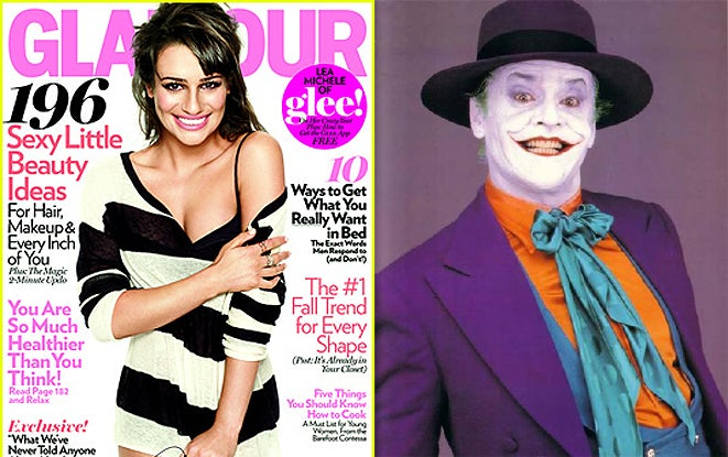 What The Hell Happened To Lea Michele On The Cover Of Glamour?