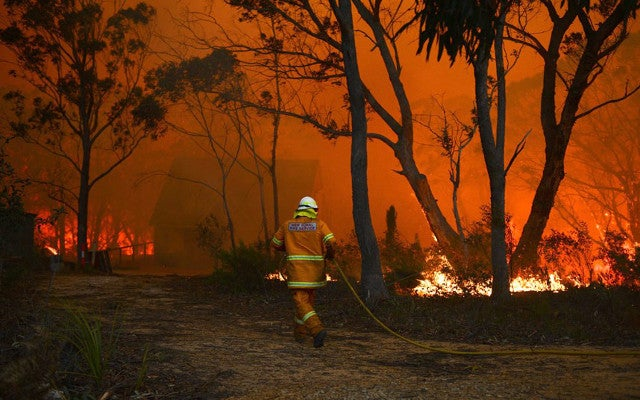 Australia's military accidentally started an early wildfire season