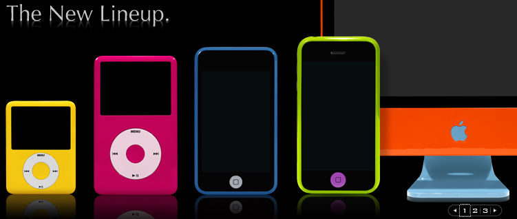 Colorware Paints iMac, iPod touch, iPod nano, and iPod classic