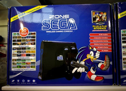 The Zone Sega Looks Like A Wii, Plays Like A Genesis