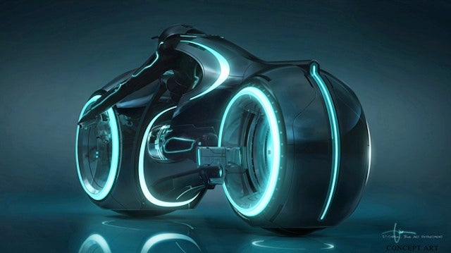 How Tron: Legacy Light Cycle Designers Made the Sexiest, Coolest Vehicle Ever