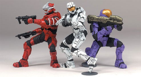 New Halo Toy Line Features Wee Spartans, Big Hunter