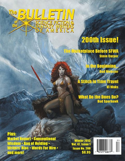 The editor of SFWA's bulletin resigns over sexist articles