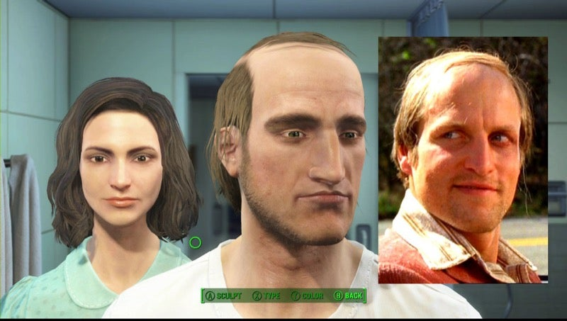 how to make a good looking fallout 3 character male