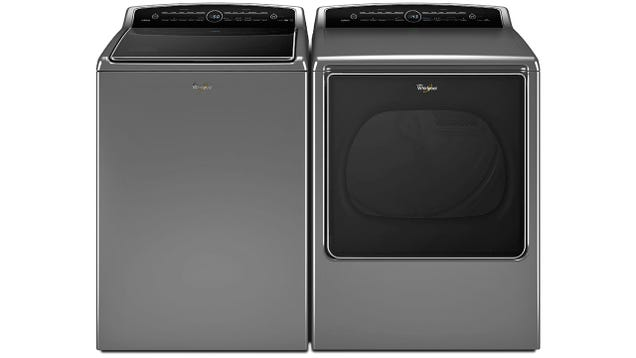 Whirlpool's Nest-Connected Washer and Dryer Run When Power Is Cheaper