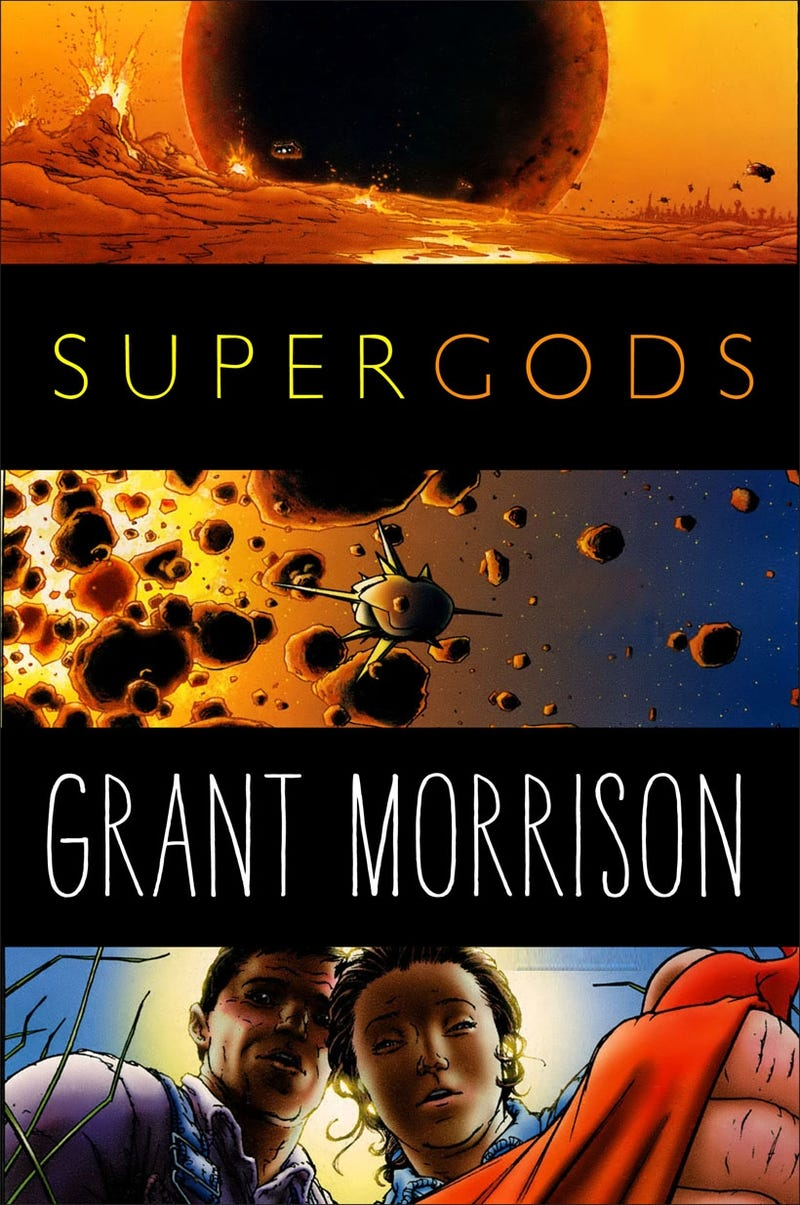 What's next for Grant Morrison? The democratic Superman, prehistoric UFO invasions, and Supergods