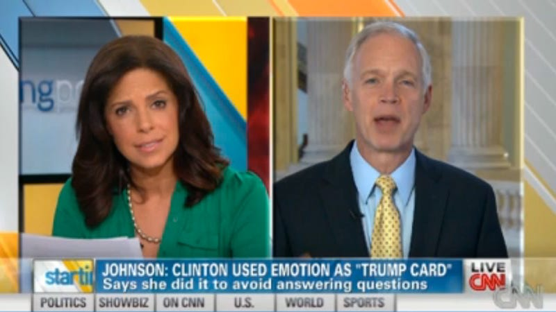 Idiot Senator Who Said Hillary Clinton Fake Cried Gets Ass Handed to Him By Soledad O'Brien