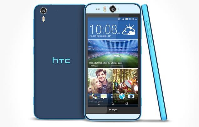 HTC Desire Eye: el nuevo smartphone pensado para selfies