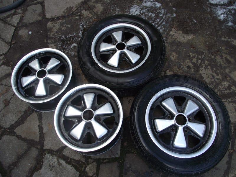 I'm selling a set of genuine Fuchs wheels on eBay