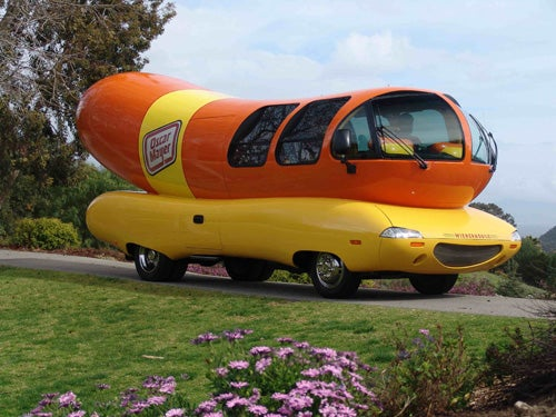 Oscar Mayers Wienermobile Downsizes Now moreover 388 in addition Mini Cooper World Slowest Plane 133036305 together with Ten Pack Of Dogs History Of The Wienermobile together with 3347927234. on oscar mayer wienermobile mini cooper