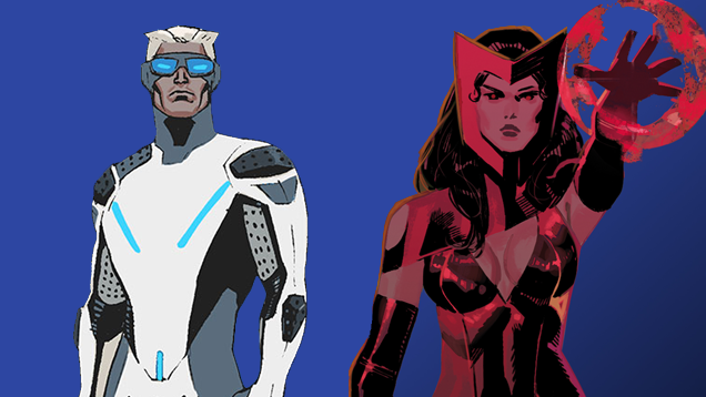 Quicksilver And Scarlet Witch s Avengers 2 Movie Origins Revealed    Quicksilver And Scarlet Witch Marvel