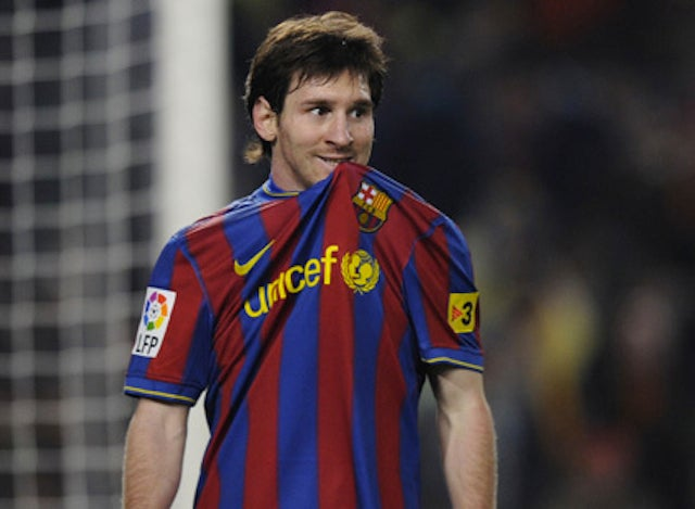Opposing Teammates Fight Over Lionel Messi's Game-Worn Shirt Like Teenaged Fanboys