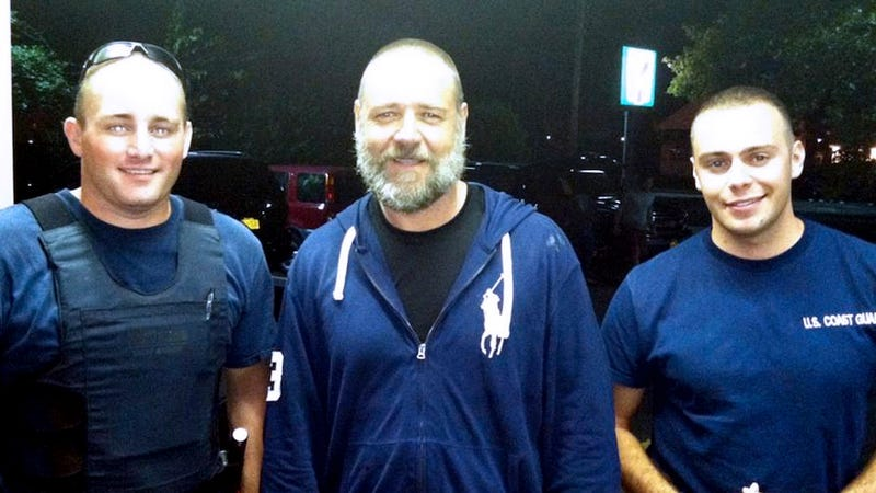 Russell Crowe: Lost at Sea, Rescued by Coast Guard