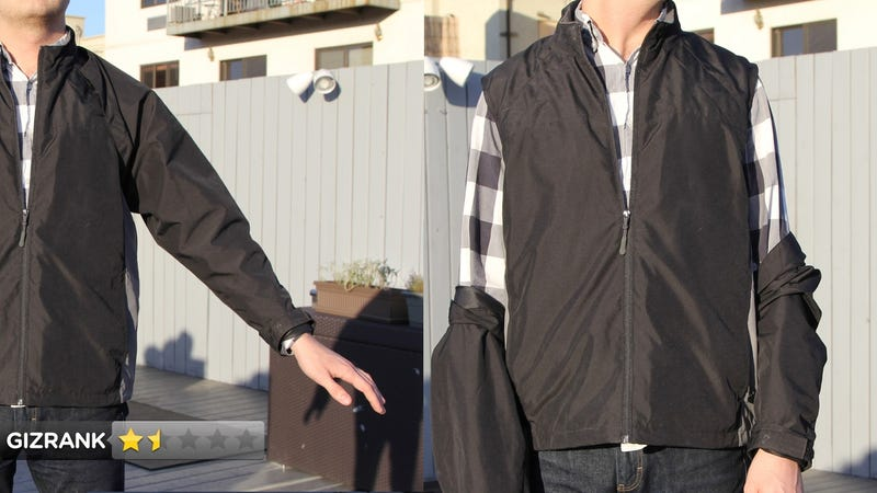 Scottevest Transformer Jacket Lightning Review: A Jacket with Sleeves that Fall Off