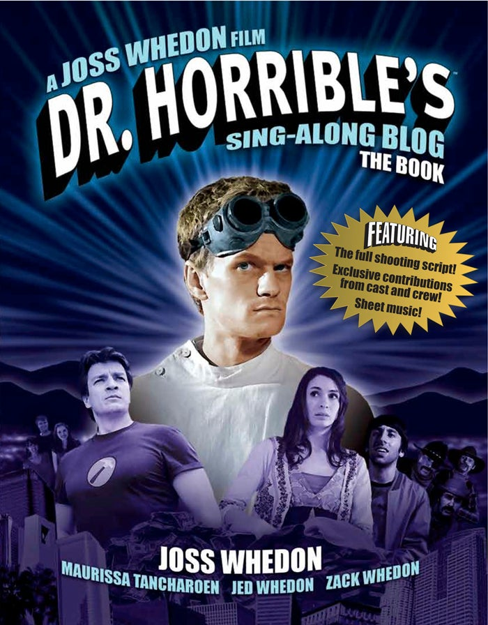 Concept art and sheet music from Joss Whedon's Dr. Horrible gives amazing insights into your favorite supervillain