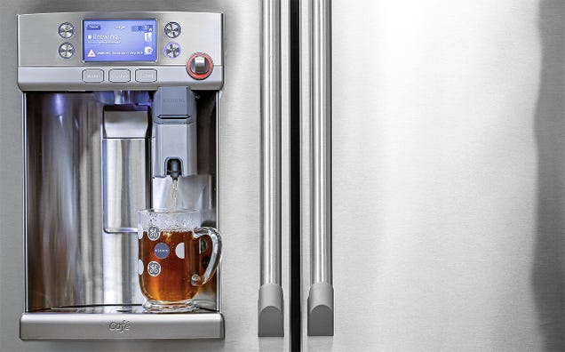 GE's New Fridge Has a Keurig Coffee Machine Built Right Into the Door