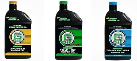 G-Oil: Yep, You Guessed It, A Green Motor Oil