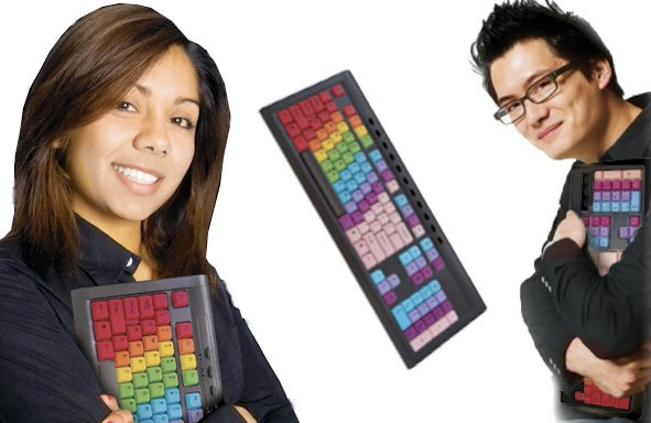KeyRight's Look & Learning Typing Solution = If Coloring Books and Twister Had a Tech Baby