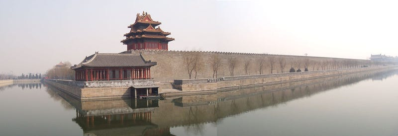 How did China move the epic boulders used to build its Forbidden City?