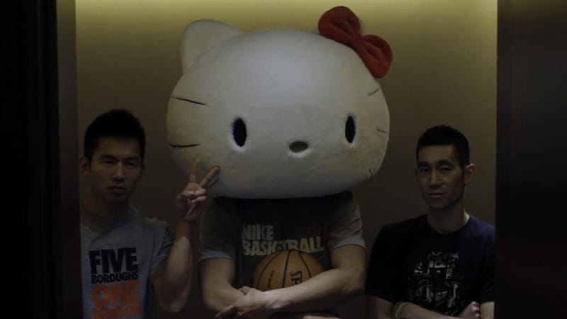 The Time Jeremy Lin Escaped in a Hello Kitty Mask