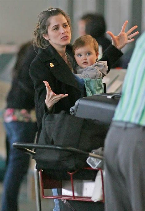 amanda peet  totally animated  daughter  absolutely adorable