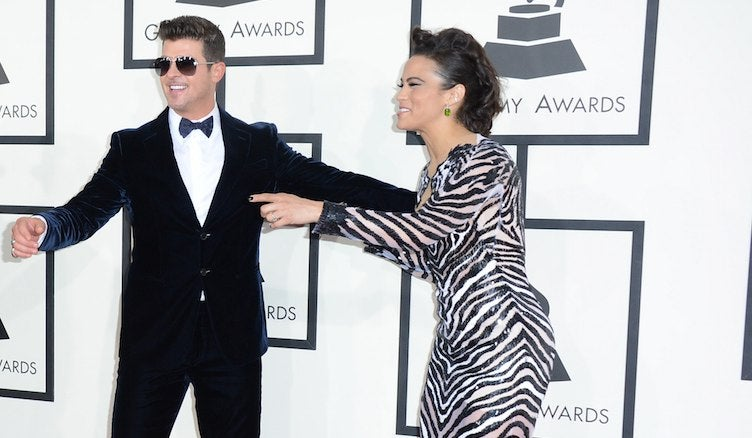 Robin Thicke Finally, Mercifully Moving On From Paula Patton