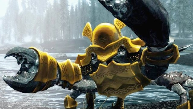 Crab Armor Not Really Announced as First Skyrim DLC!