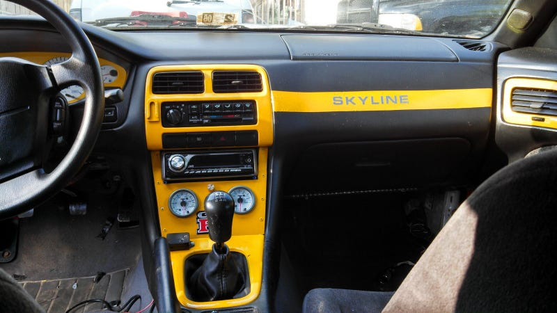 """R33 Conversion"" found on ebay"