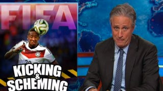 Here's Jon Stewart's Take on FIFA's Long, Blatant History of Corruption