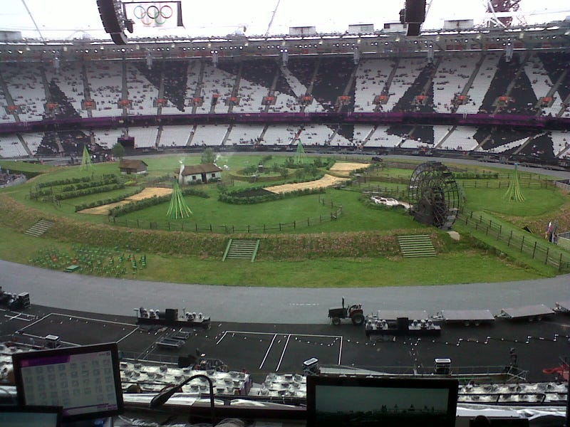 We Now Know What The London Olympics Opening Ceremony Will Look Like [UPDATE]