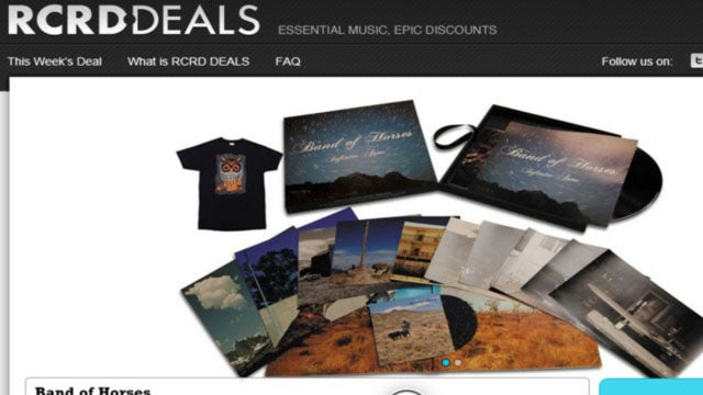 RCRD DEALS Delivers Music and Bargains to Your Inbox