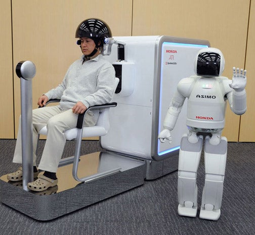 Honda Asimo Creators Turning Your Brain into the Ultimate Robot Controller