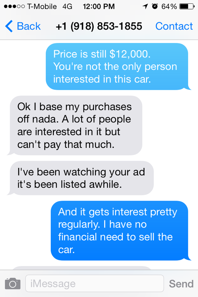 Shit I Have To Put Up With Craigslist Arguing