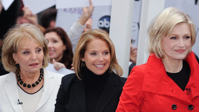 Did Katie Couric Accuse Diane Sawyer of Handing Out BJs Like Candy?