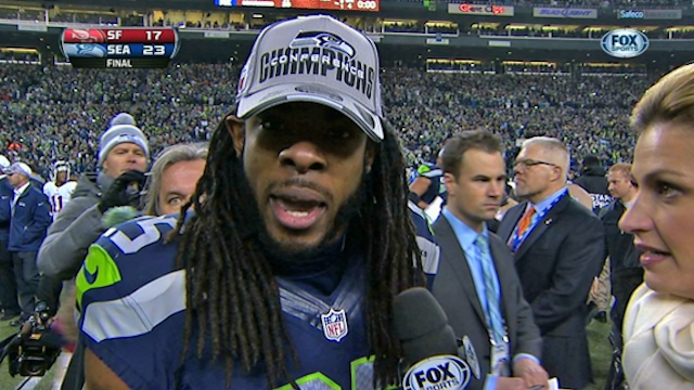 Erin Andrews Didn't Screw Up The Richard Sherman Interview
