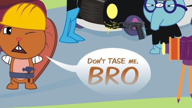 """TASER® Trademark Hounds Insist Man Using """"Taser"""" At Stadium Fight Was Not Using TASER®"""
