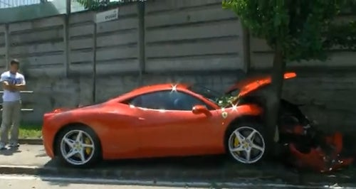 Ferrari Owner Wrecks 458 Italia Within 24 Hours Of Purchase