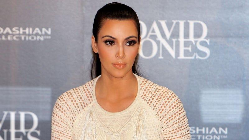 Kim Kardashian Says Baby Brow Waxing Claims Are 'Sick'