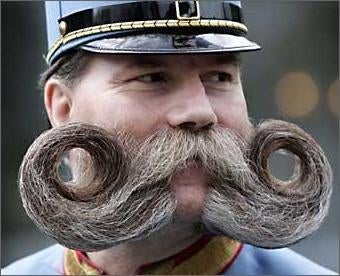Mustaches are Back. Again!