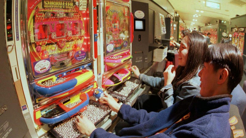 Social Gaming Is Kind of Like Gambling. Pachinko Industry Is Worried.