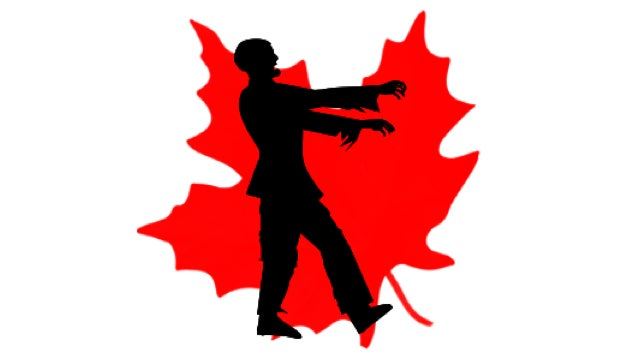 The Canadian government has officially declared itself anti-zombie