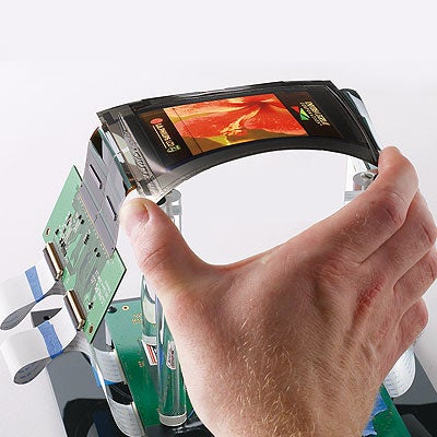 Wrist-Worn, Flexible OLED Out in the Wild