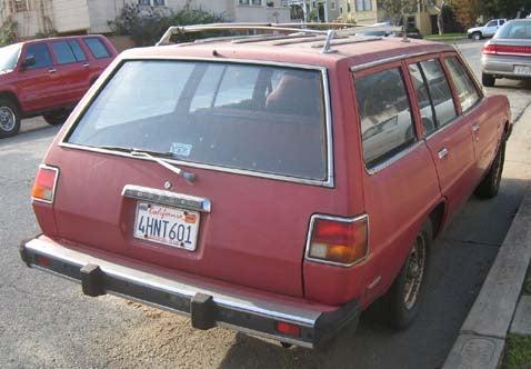 1978 Dodge Colt Station Wagon