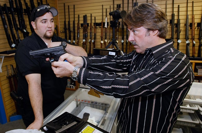 Crooks Lose Money In Botched Gun Store Robbery