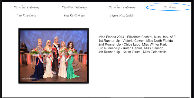 Another Miss America Fuck-Up: Pageant Crowns the Wrong Miss Florida